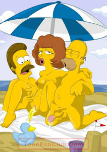 gotofap__Simpsons And Flanders On The Beach 01_2859521871.jpg