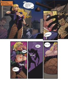 Black Canary Ravished Prey Issue 1 page01 29784635.jpg
