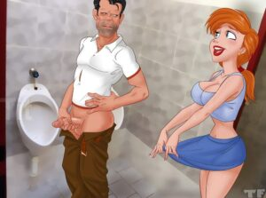 Ariel Relieves Herself In The Wrong Restroom 01 35076194 lq.jpg