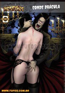 Gangue Dos Monstros 3 Conde Dracula Portuguese page00 Cover 96807213 lq.jpg
